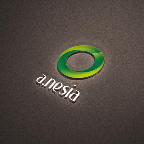 로고 + 명함 | 에이네시아 로고 및 명함... | 라우드소싱 포트폴리오