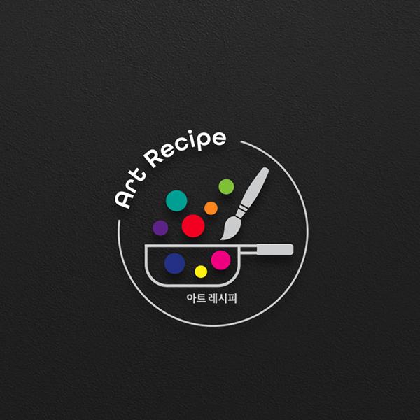 로고 + 명함 | 아동 미술학원 로고 의뢰 | 라우드소싱 포트폴리오
