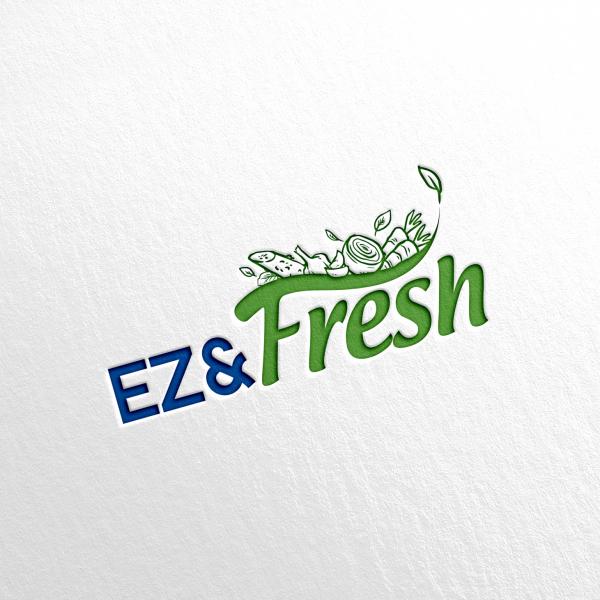 로고 디자인 | EZ&FRESH의 BI제... | 라우드소싱 포트폴리오
