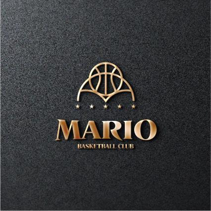 로고 디자인 | 마리오 농구단(MARIO BA... | 라우드소싱 포트폴리오