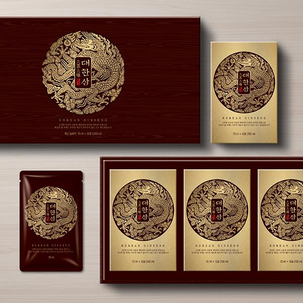 패키지 디자인 | 대한삼 흑삼 패키지 디자인 | 라우드소싱 포트폴리오