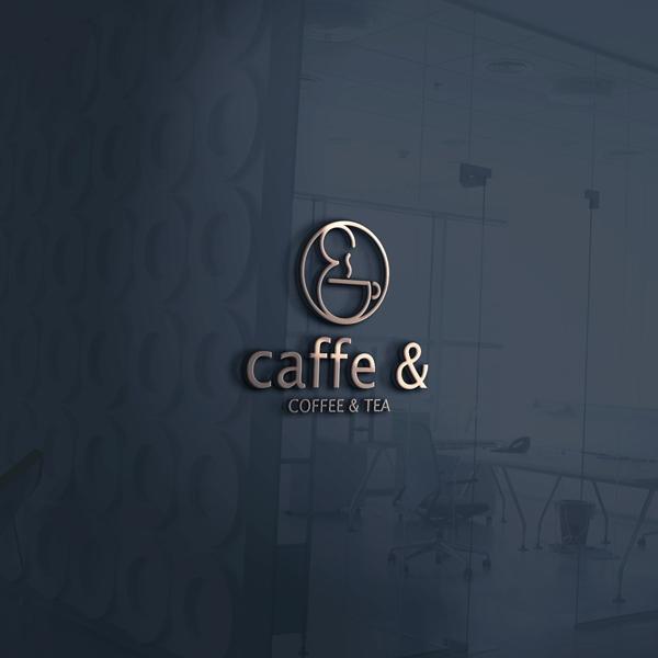 로고 + 간판 | caffe & 또는 c... | 라우드소싱 포트폴리오