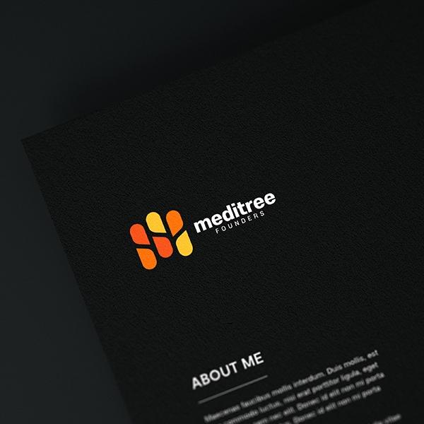 로고 + 명함 | 메디트리파운더스 | 라우드소싱 포트폴리오