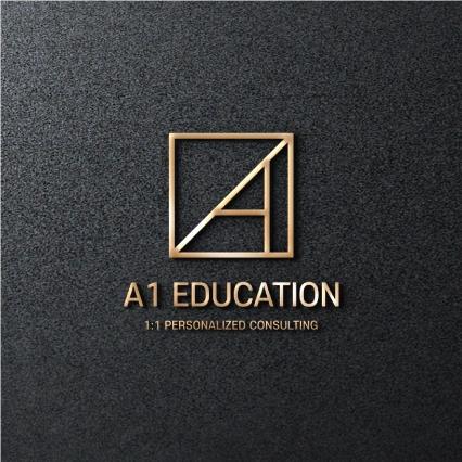 로고 + 명함 | 에이원에듀케이션 | 라우드소싱 포트폴리오