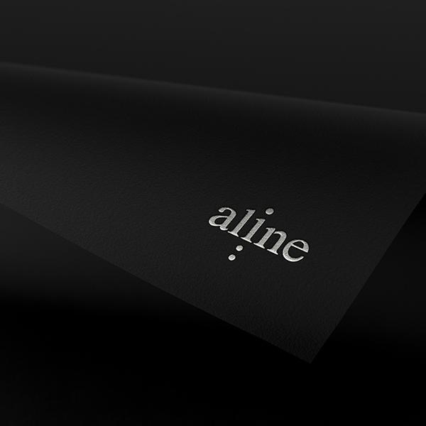 로고 디자인 | Aline | 라우드소싱 포트폴리오
