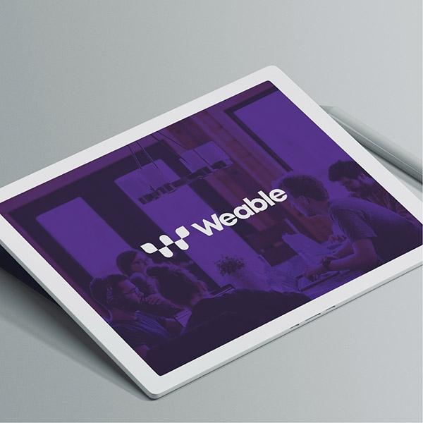 로고 + 명함 | 위블(Weable) | 라우드소싱 포트폴리오