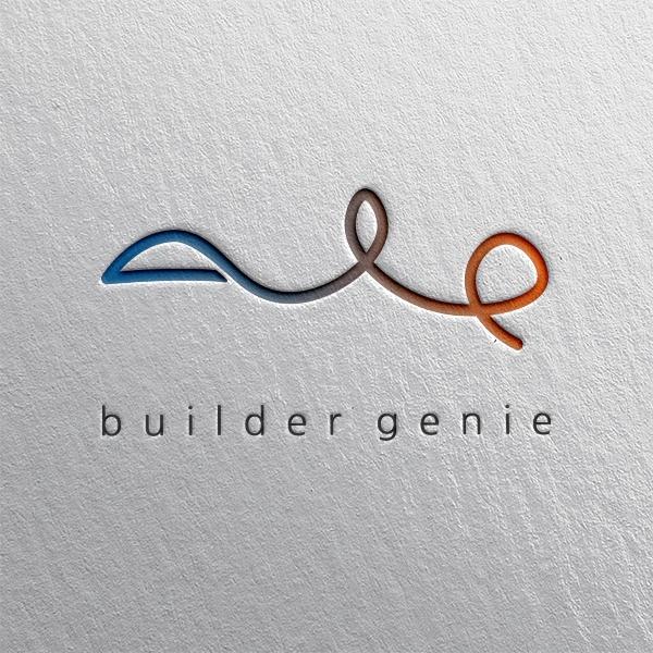 로고 디자인 | 빌더지니 | 라우드소싱 포트폴리오