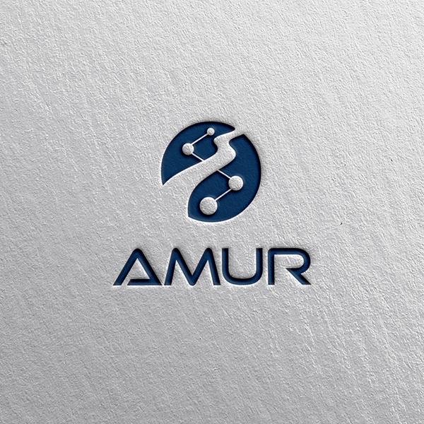 로고 + 명함 | 아무르(AMUR) 로고 ... | 라우드소싱 포트폴리오