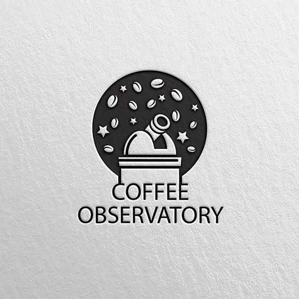 로고 디자인 | 커피 옵저버토리(Coffee ... | 라우드소싱 포트폴리오