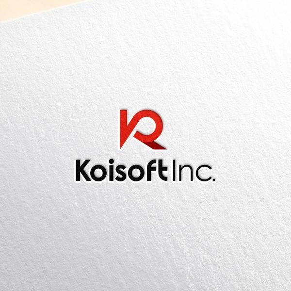 로고 + 명함 | 코이소프트 로고+명함 디... | 라우드소싱 포트폴리오
