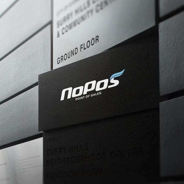 로고 디자인 | NoPos | 라우드소싱 포트폴리오