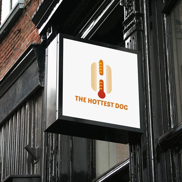로고 디자인   THE HOTTEST DOG   라우드소싱 포트폴리오
