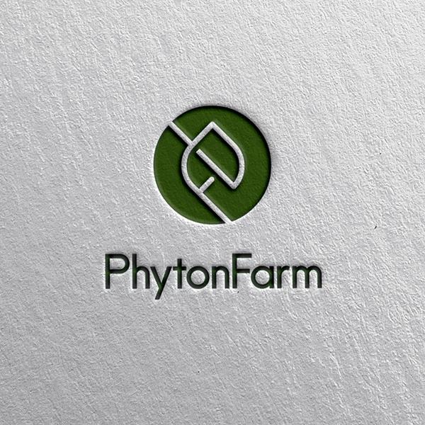 로고 디자인 | 피톤팜(PhytonFar... | 라우드소싱 포트폴리오