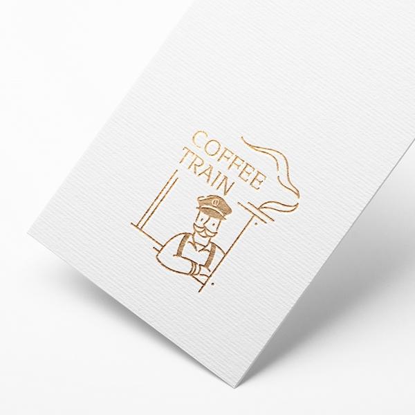 로고 디자인 |  커피트레인 | 라우드소싱 포트폴리오
