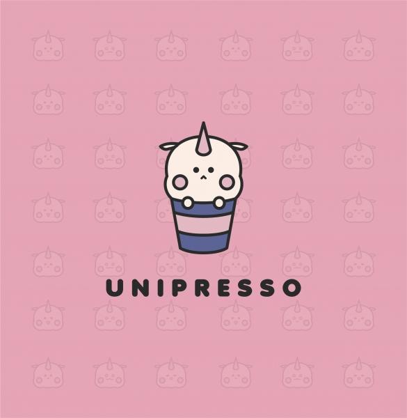 로고 디자인 | UNIPRESSO | 라우드소싱 포트폴리오