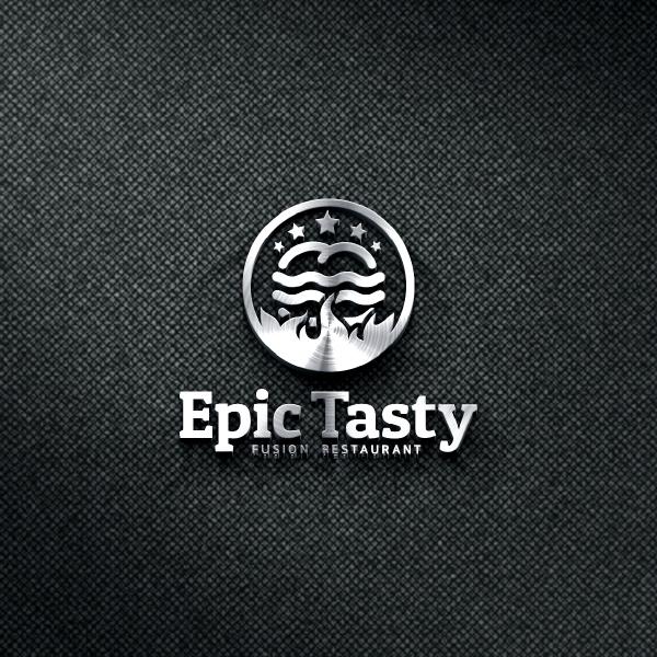 로고 + 간판   Epic Tasty   라우드소싱 포트폴리오