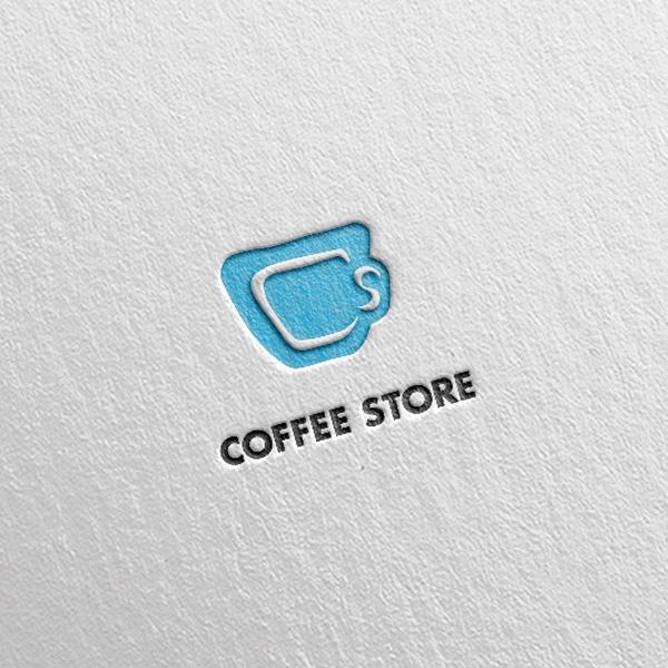 로고 디자인 | 커피스토어 | 라우드소싱 포트폴리오