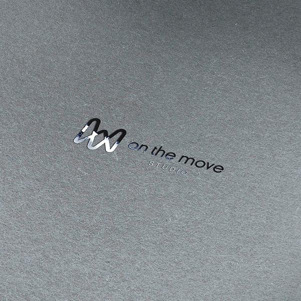로고 + 명함 | (주)온더무브 | 라우드소싱 포트폴리오