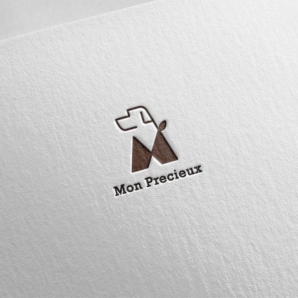 로고 + 명함 | 몽프레슈(애견의류) 로고... | 라우드소싱 포트폴리오
