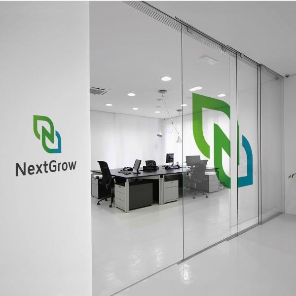 로고 + 명함 | NextGrow | 라우드소싱 포트폴리오
