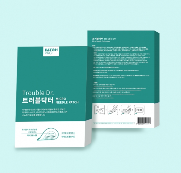 패키지 디자인 | PATCHPRO 트러블패... | 라우드소싱 포트폴리오