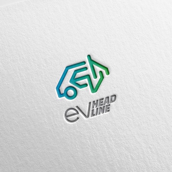 로고 + 명함 | EVheadline | 라우드소싱 포트폴리오