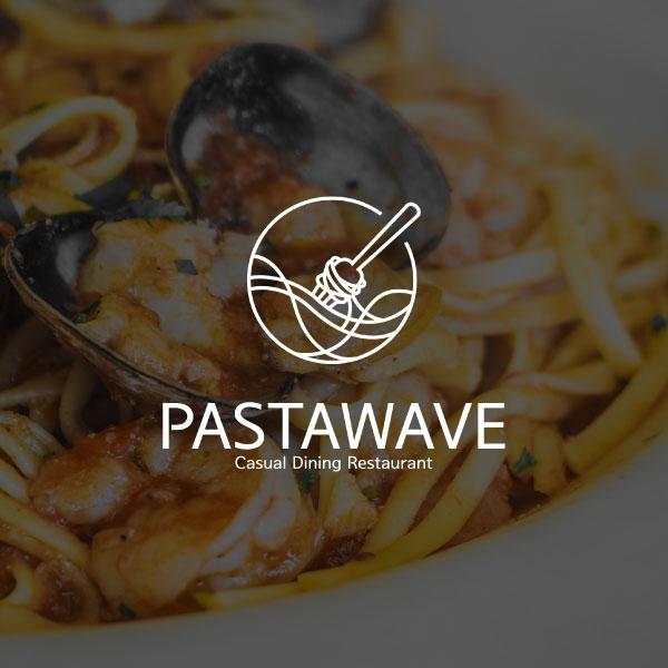 로고 디자인   파스타웨이브(PASTAWAVE)   라우드소싱 포트폴리오