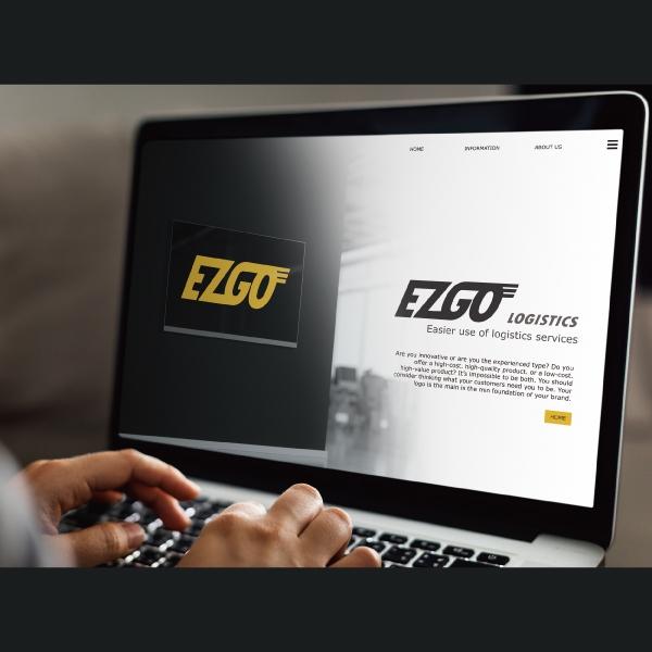 로고 + 명함 | EZGO Logistics | 라우드소싱 포트폴리오