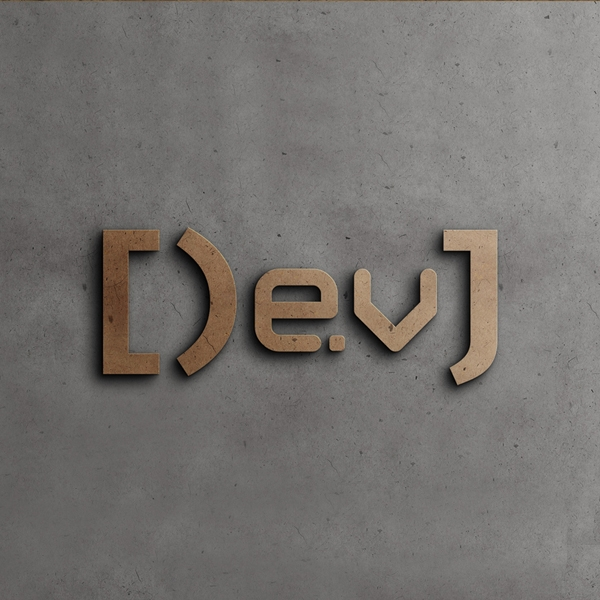 로고 + 명함 | Developer J | 라우드소싱 포트폴리오