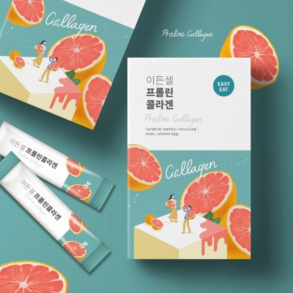 패키지 디자인 | 이든셀 | 라우드소싱 포트폴리오