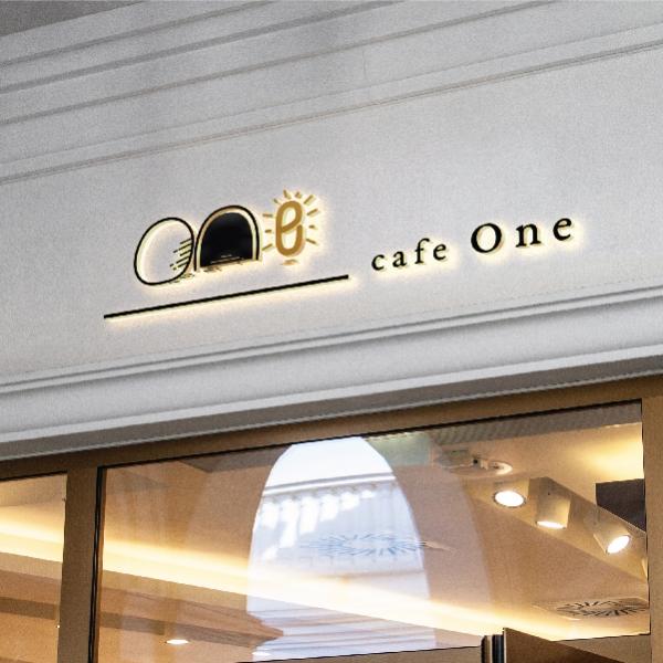 로고 디자인   카페 원(cafe One)   라우드소싱 포트폴리오