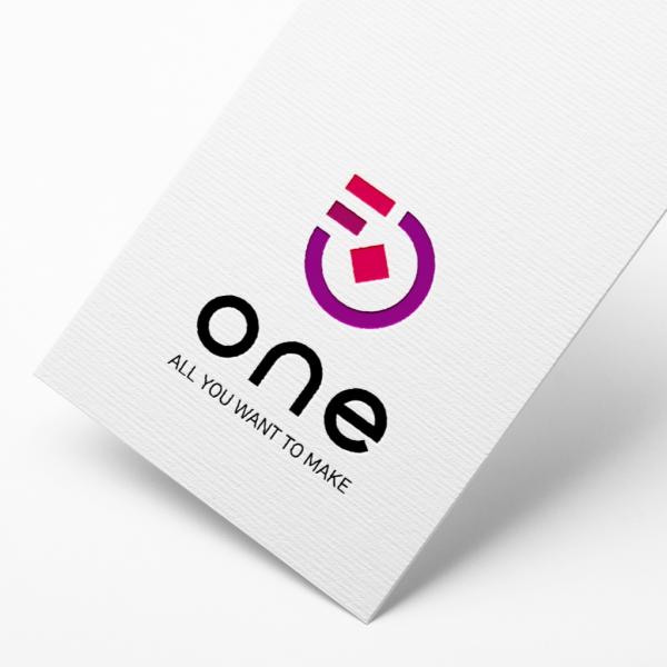 로고 디자인 | 원 ( one ) | 라우드소싱 포트폴리오