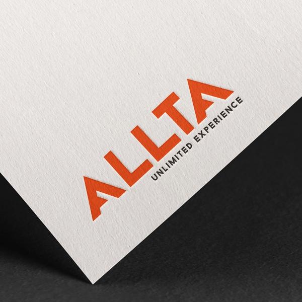 로고 디자인   올타스포츠 CI   라우드소싱 포트폴리오