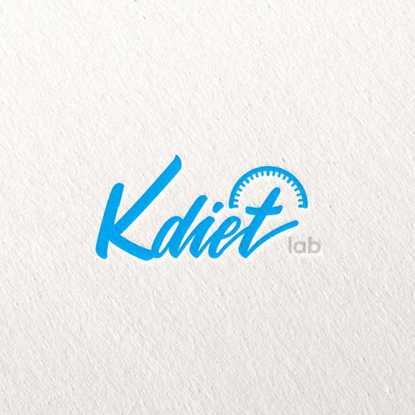 로고 디자인 | K DIET LAB | 라우드소싱 포트폴리오