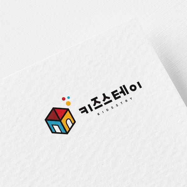 로고 + 간판 | KIDSSTAY(키즈스테... | 라우드소싱 포트폴리오