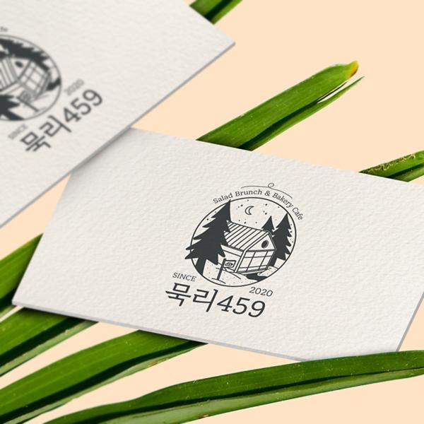 로고 + 간판 | 카페 로고&간판 디자인 의뢰 | 라우드소싱 포트폴리오