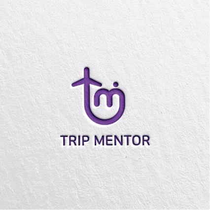 로고 + 명함 | (주)트립멘토 로고 및 ... | 라우드소싱 포트폴리오