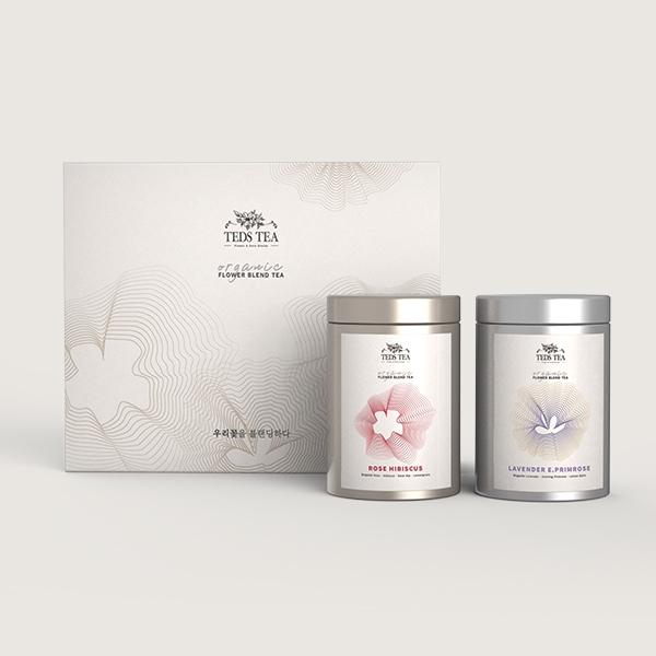 패키지 디자인 | 꽃차 블랜딩 티(TEA)... | 라우드소싱 포트폴리오