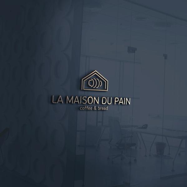로고 + 간판 | LA MAISON DU PAIN | 라우드소싱 포트폴리오