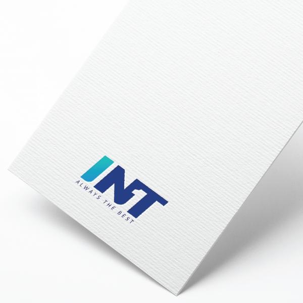 로고 + 명함 | (주)아이엔티 로고 및 명함 제작  | 라우드소싱 포트폴리오