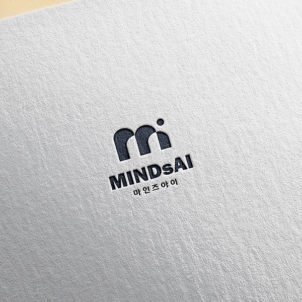 로고 + 명함 | 마인즈아이(MINDsAI) | 라우드소싱 포트폴리오
