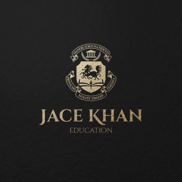 로고 + 간판 | JACE KHAN 영어학원, ... | 라우드소싱 포트폴리오