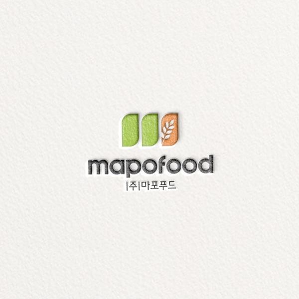로고 디자인 | (주)마포식품 | 라우드소싱 포트폴리오