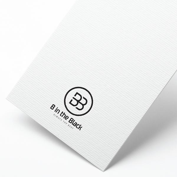 로고 디자인 | B in the Black | 라우드소싱 포트폴리오
