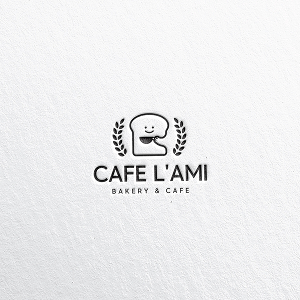 로고 디자인 | CAFE L'AMI | 라우드소싱 포트폴리오