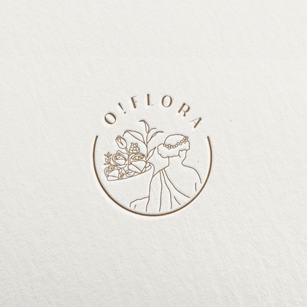 로고 + 간판   오플로라   라우드소싱 포트폴리오