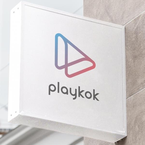 로고 디자인 | PlayKok 플레이콕 ... | 라우드소싱 포트폴리오