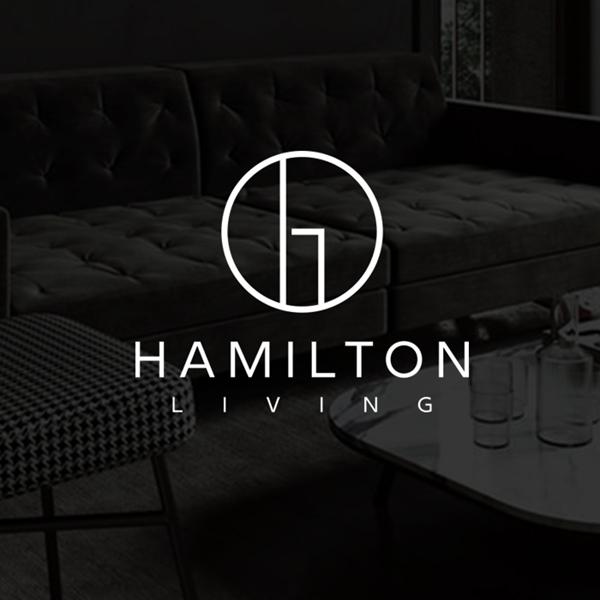 로고 + 명함 | Hamilton Living | 라우드소싱 포트폴리오