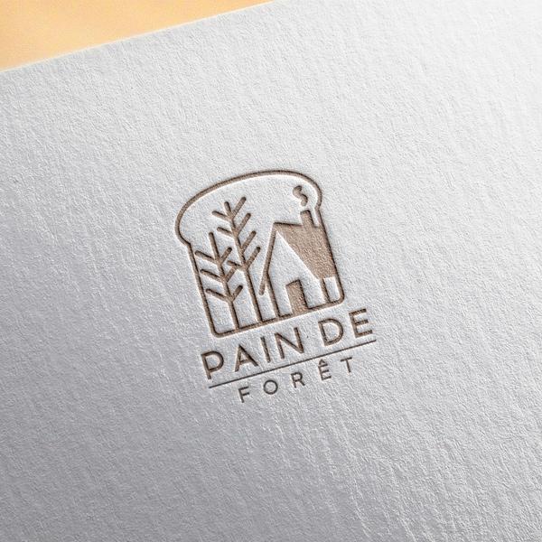 로고 디자인 | 뺑드포레 PAIN DE FORÊT | 라우드소싱 포트폴리오