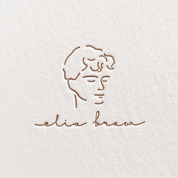 로고 + 명함 | 한글: 엘리오 / 영문: El... | 라우드소싱 포트폴리오